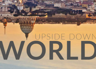 upside down world