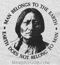 chief seattle man belongs to earth