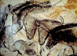 Horses at Lascaux Cave